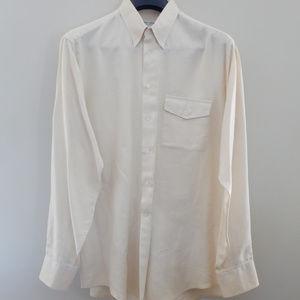 Creme colored Giorgio Armani Dress Shirt